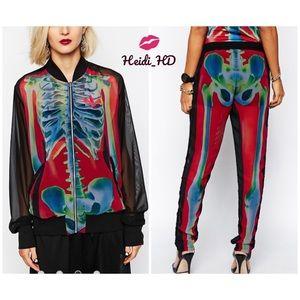 Adidas Originals Rita Ora Skeleton Outfit